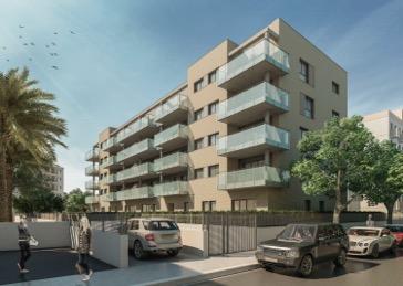 Edificio de 30 viviendas y aparcamientos