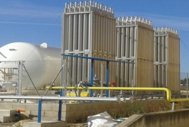 LNG installation