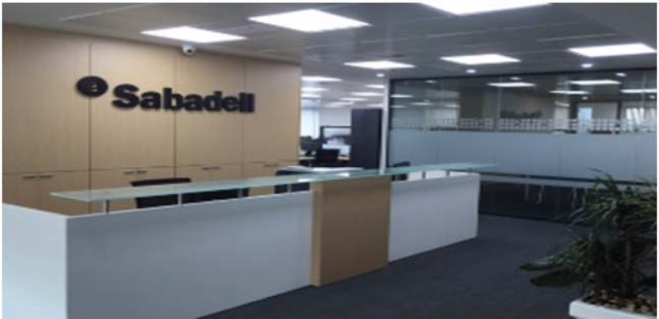 Remodeling Sabadell bank offices