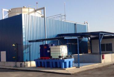 Planta de evaporación de lixiviados | EPREMASA