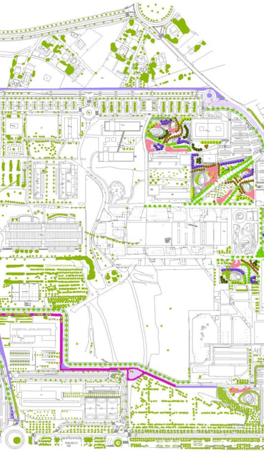 4 Proyectos de urbanización en la universidad UMH