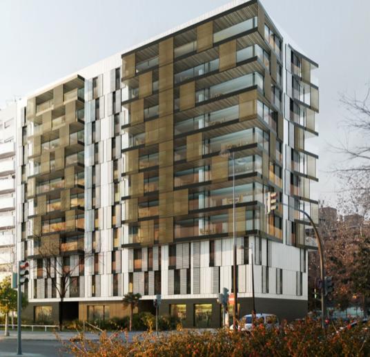"""Propuesta edificio de 42 viviendas """"Alameda"""""""