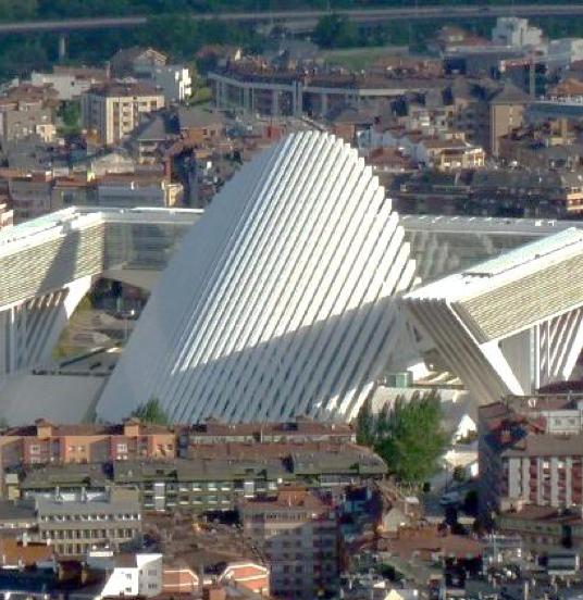 Palacio de exposiciones y congresos de Oviedo