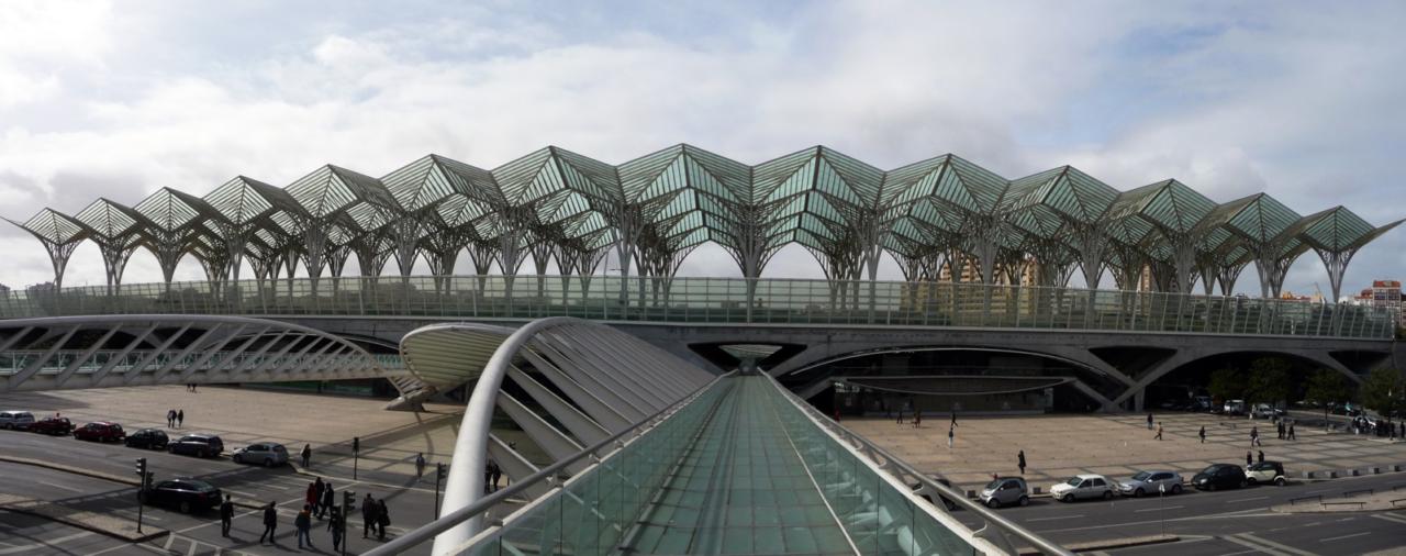 Ampliación estación de Oriente de Lisboa para Rave