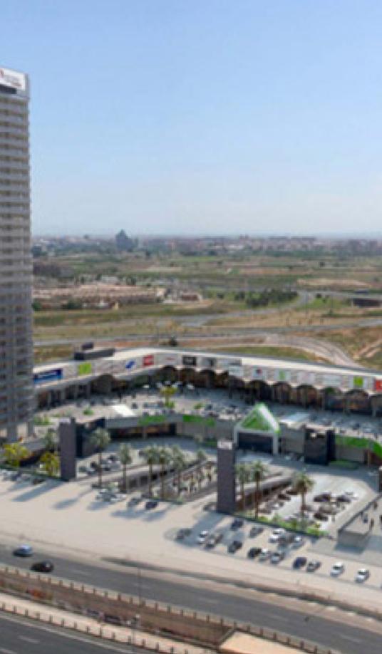 Centro comercial y torre de oficinas parque Ademuz