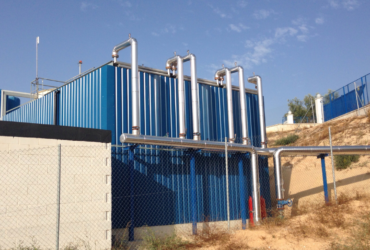 New contract for the construction of a leachate evaporation plant (EPC)