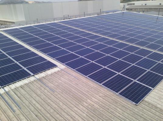 Instalación Fotovoltaica   LOGISTICS