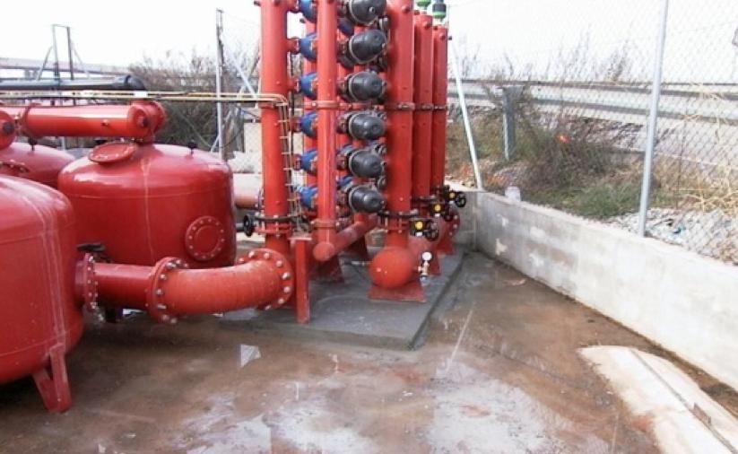 Implantación de red de riego a presión