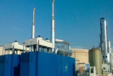 Instalación de cogeneración con biogás | EMUASA