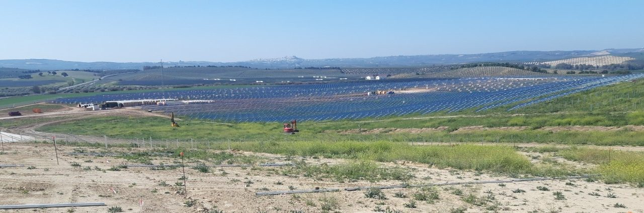 Construction of a 46MW photovoltaic plant in Espejo (Córdoba)