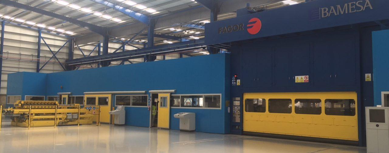 Ampliación de Industria de bobinas de acero | BAMESA