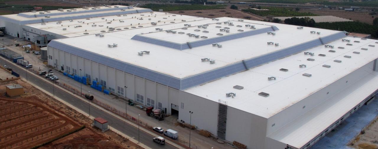 Reconstrucción de central hortofrutícola | FONTESTAD
