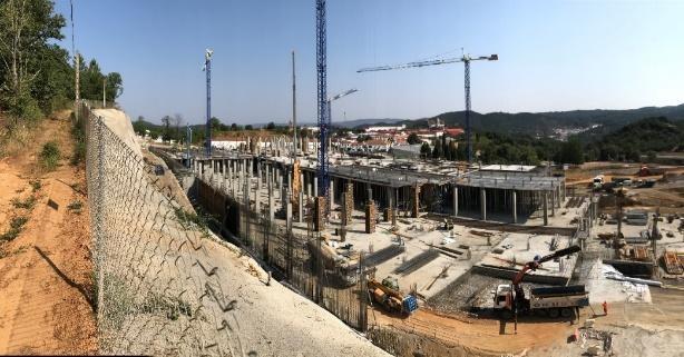 Las obras de la nueva planta de Legado Ibérico avanzan a buen ritmo