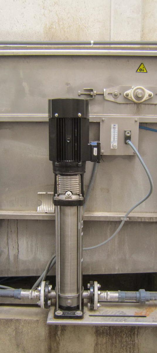 Pretratamiento de aguas de proceso en bodegas | REYMOS