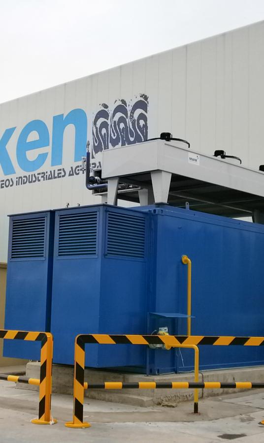 Instalación de cogeneración de 1 MW con gas natural | LIASA
