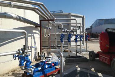 Modificación de tratamiento biológico en industria | CARNES DE TERUEL