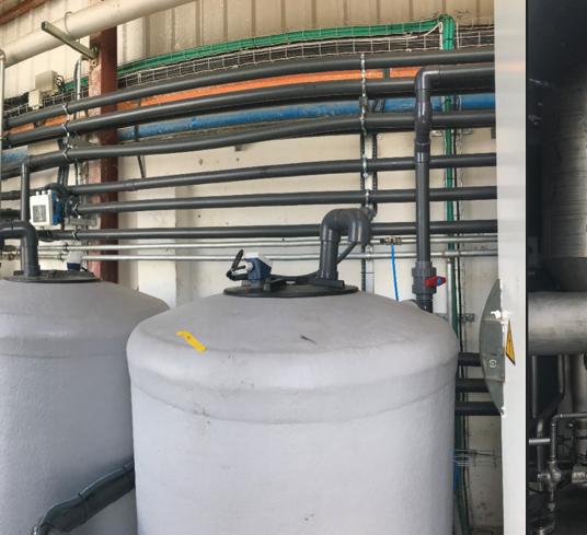 Instalación de evaporación de aguas residuales industriales para QUIMI ROMAR