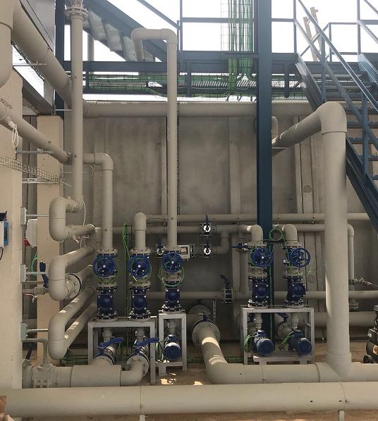 Grupotec finaliza la depuradora de aguas residuales industriales (EPC) para YBARRA