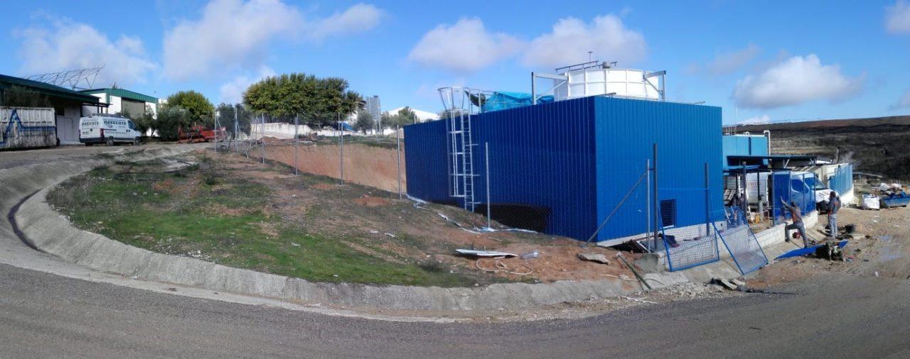 Puesta en marcha de la planta de lixiviados en Córdoba