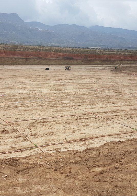 Grupotec Inicia la Construcción de la Planta Fotovoltaica en el Desierto de Tabernas (Almería)