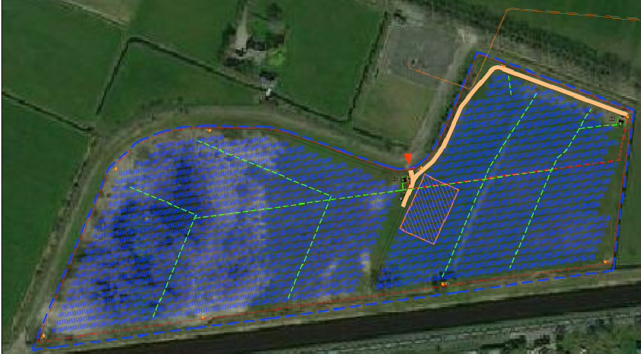 First photovoltaic plant in <b>Holland</b>