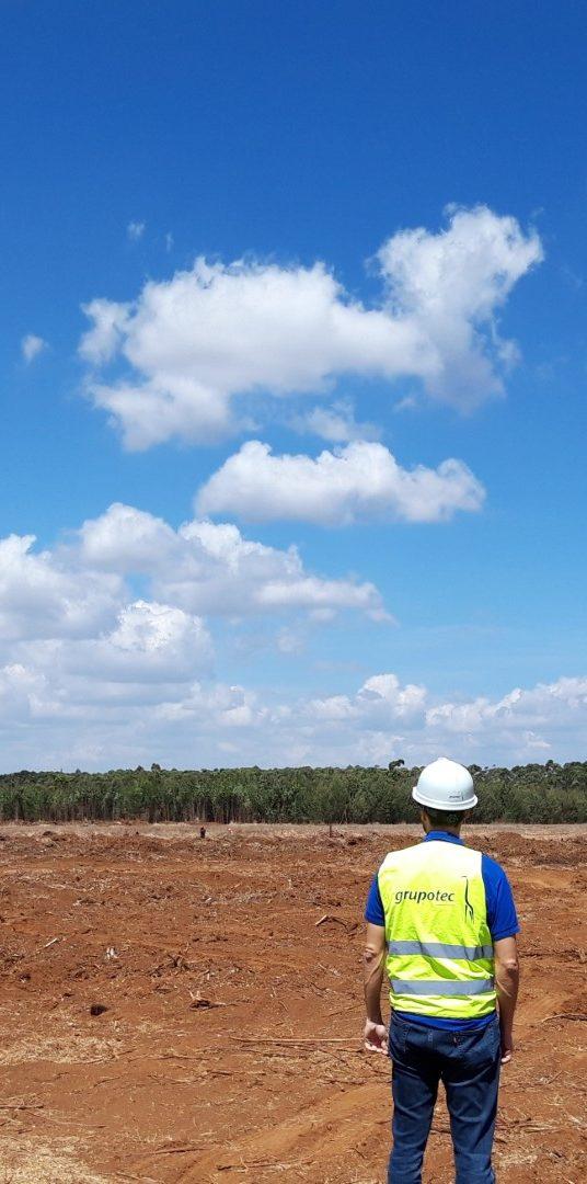 Grupotec inicia la construcción de la planta fotovoltaica más grande de <b>África</b>