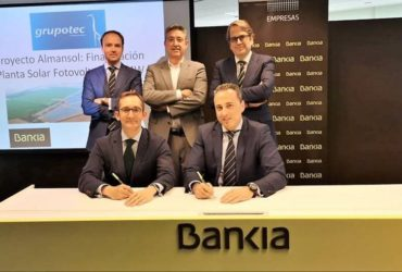 Financing closed with Bankia for a 50MW photovoltaic solar plant