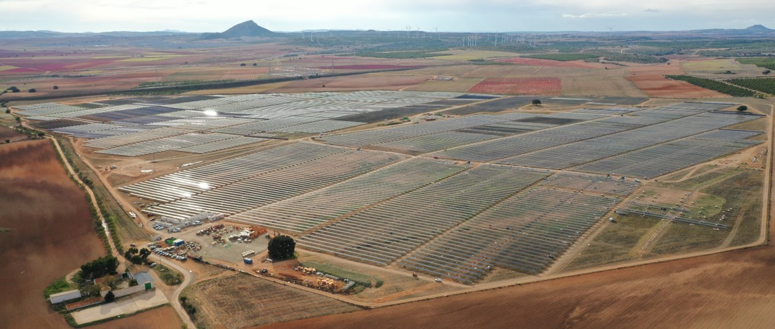 Grupotec has connected its 92 MW of photovoltaic energy