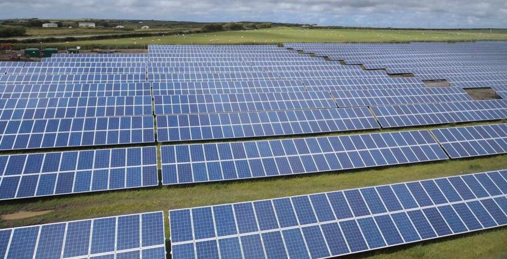 Nuevo contrato: planta fotovoltaica Goosehall Farm, UK (43 MWp)