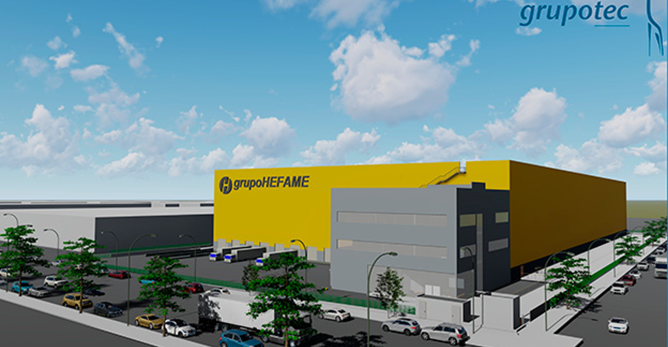 New logistics centre for HEFAME (pharmaceutical distribution) in Valencia