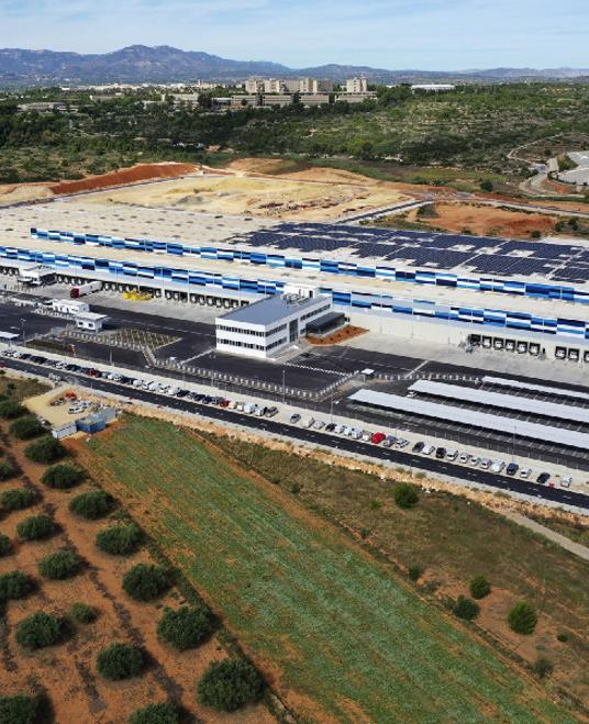 Inauguración de la planta logística de LIDL en Cheste (Valencia)