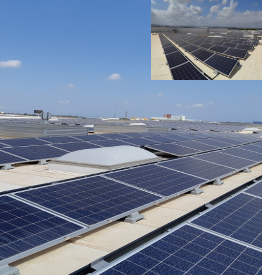 Grupotec proyecta y ejecuta la instalación fotovoltaica de autoconsumo para Frutinter