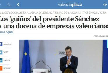El Presidente del Gobierno menciona a GRUPOTEC entre las empresas significativas valencianas.