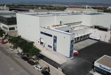 Finalización obras almacén logístico MONTFRISA