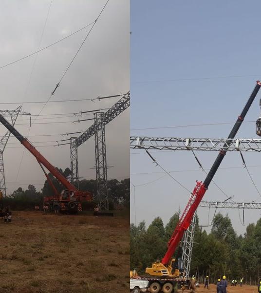 Conexión de las plantas fotovoltaicas de Kenia